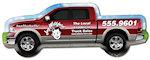 Pickup Truck Shape Magnets